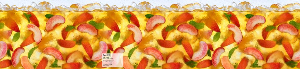 Campa Ice Tea - Peach. Упаковка персикового чая